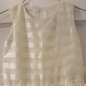 Other - Girls cream colored Formal Dress